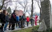 Návštěva ze ZŠ Křížová - po stopách procesů let padesátých (2017)
