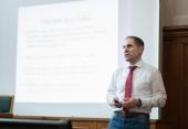 Přednáška Budování úspěšného pracovního týmu, Mezinárodní sportovní škola (2017) (jednatel HC Dukly Bedřich Ščerban)