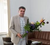 Rektor VŠPJ byl jmenován profesorem - gratulace