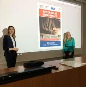 Přednáška Neverbální komunikace (Ing. Hana Vichrová a Bc. Aneta Šimonová)