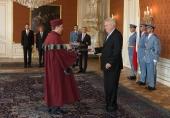 Jmenování rektora 24. 7. 2014