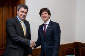 Návštěva Andrew H. Schapira, velvyslance USA (2016)