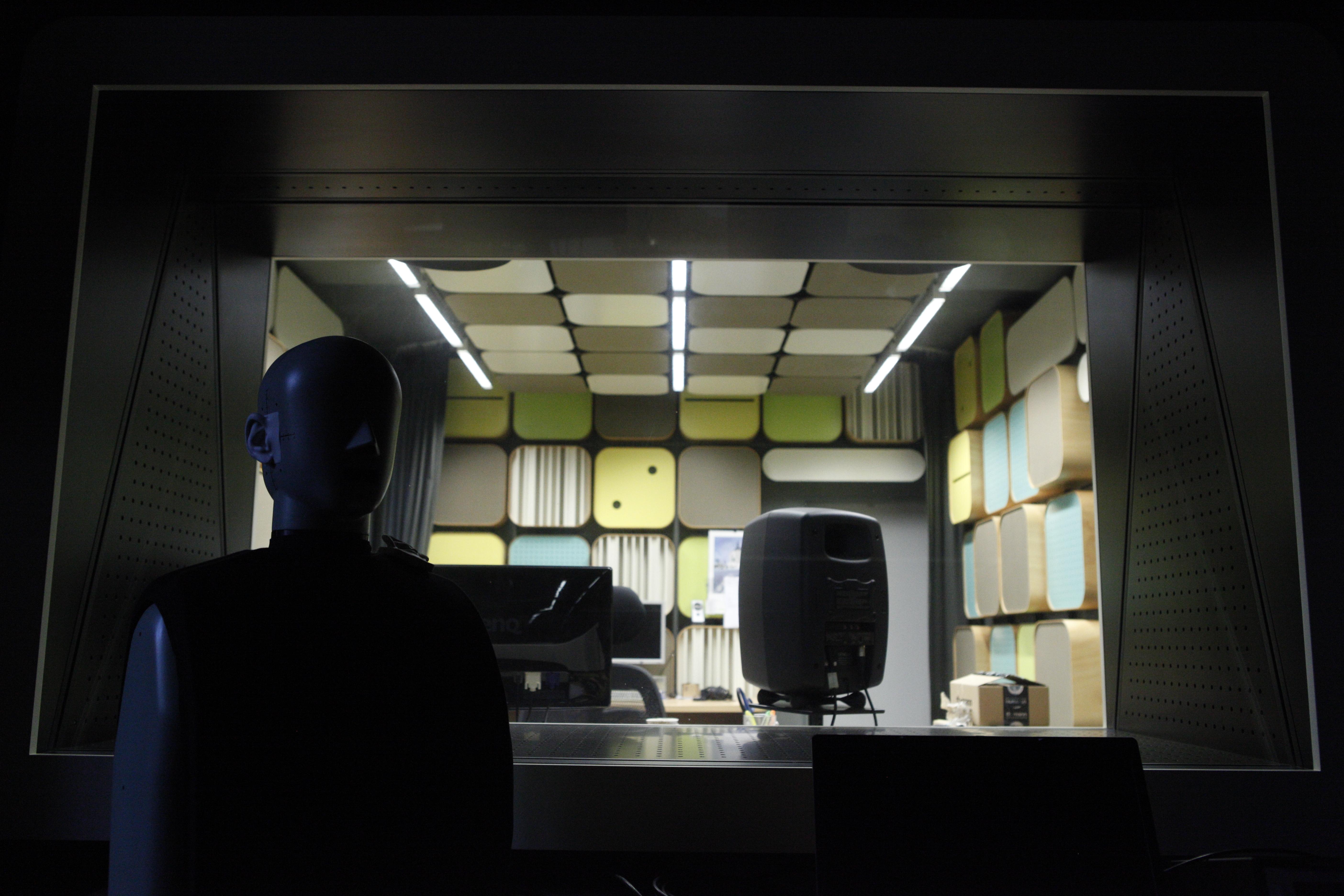 Pohled do laboratoře zpracování signálů
